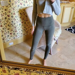 Lululemon Leggings High Waist Green Size 4